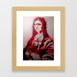 Mona Dear Mona Framed Art Print