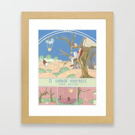 Il Barone Rampante (The baron in the trees) Framed Art Print