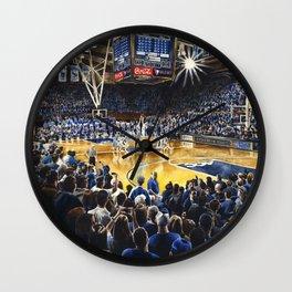 Tip-off, UNC at Duke Wall Clock