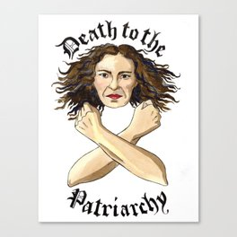 Death to the Patriarchy Canvas Print