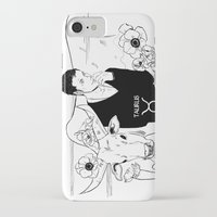 taurus iPhone & iPod Cases featuring Taurus by Cassandra Jean