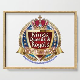 Kings, Queens & Royals United Serving Tray