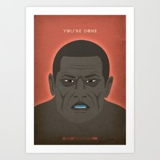 Breaking Bad - Seven Thirty-Seven Art Print