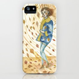 A Gust of Wind iPhone Case