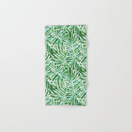 PALMY AND 85 Green Tropical Palm Hand & Bath Towel
