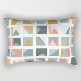 Mini Quilt Blocks Rectangular Pillow