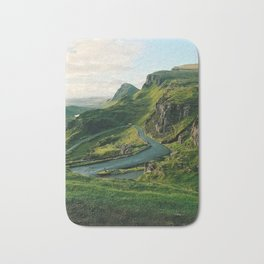 The Quiraing in Isle of Skye, Scotland Bath Mat