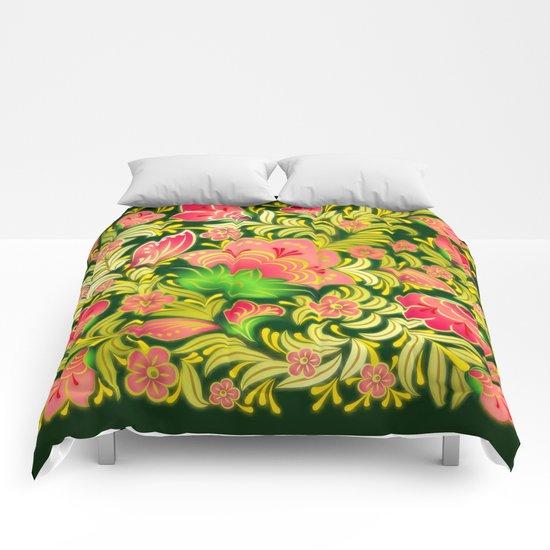 Shabby flowers #14 Comforters