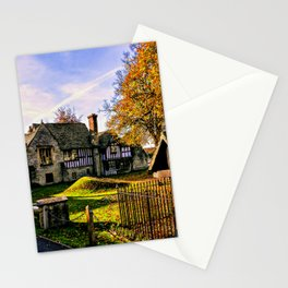 Almonry in Autumn Stationery Cards
