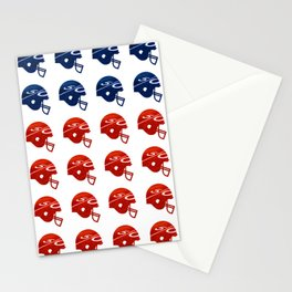 American Football Flag Stationery Cards