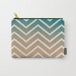 SUNSET STRIPES Carry-All Pouch