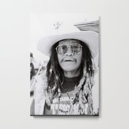 A old mexican man Metal Print