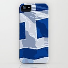 Greece Fancy Flag iPhone Case