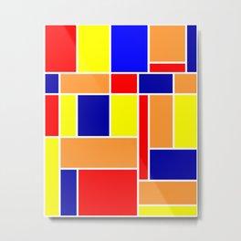 Mondrian No. 82 Metal Print