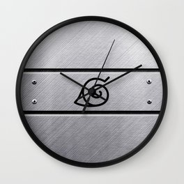 Naruto Headband Wall Clock