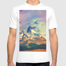 Creator. White MEDIUM Mens Fitted Tee