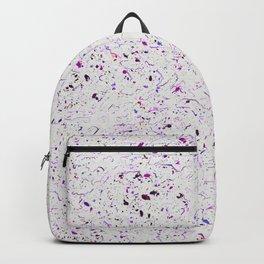 Purple Droplets #2259 Backpack