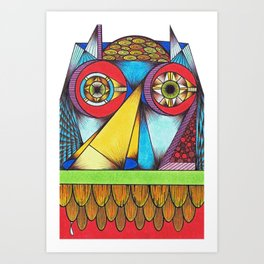 I Can See Your House From Here Art Print