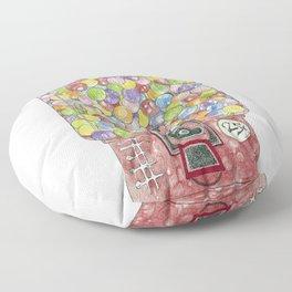 Gumballs Floor Pillow