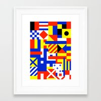 sail Framed Art Prints featuring Sail by Jan Luzar