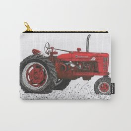 Farmall Super M, International Harvester Tractor Drawing Carry-All Pouch