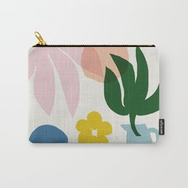 Abstraction_Floral_002 Carry-All Pouch