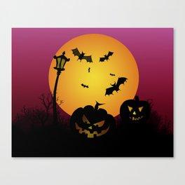 Spooky Halloween 6 Canvas Print