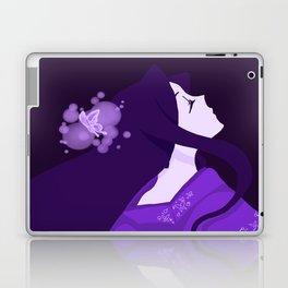 The Purple Butterfly KIMONO Laptop & iPad Skin