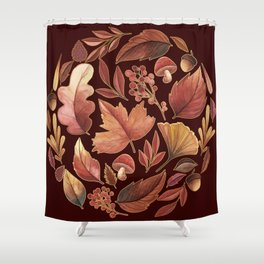 The Winds Of Autumn Have Returned Shower Curtain