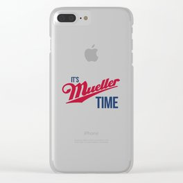 Mueller Time Clear iPhone Case