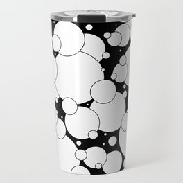 Black and White Pop 2 Travel Mug