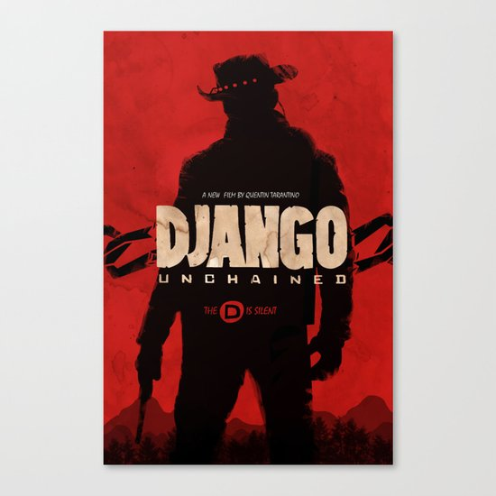 Django Unchained  Canvas Print