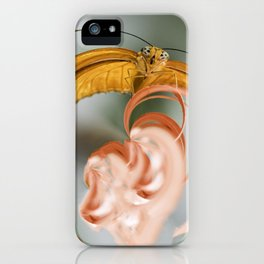 Butterfly in Charge iPhone Case