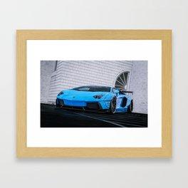 Lambo Aventador Framed Art Print