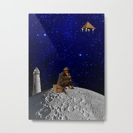 The lighthouse keeper Metal Print