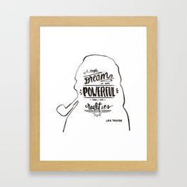 A Single Dream Framed Art Print
