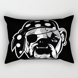 Pirate Dog Rectangular Pillow