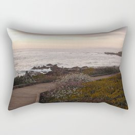 On the right path - Wildflowers bloom for those in love Rectangular Pillow
