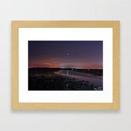 Good Evening....  Framed Art Print