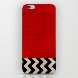 Twin Peaks - Red Room iPhone Skin