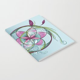 spring yoga Notebook