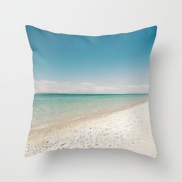 Seaside Manitou Island Throw Pillow
