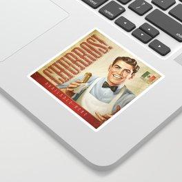 CHURROS Sticker