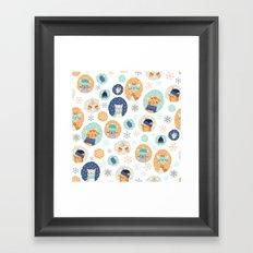 Cozy Kitties Framed Art Print