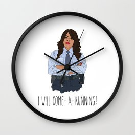 Scream Queens- Momma Denise Wall Clock