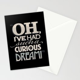 Curious Dream Stationery Cards