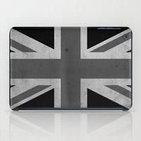 jack white iPad Cases featuring Union Jack - Black&White by NicoWriter