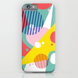 Abstract Pop II iPhone Case