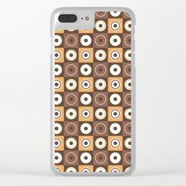 Cafés crème Clear iPhone Case