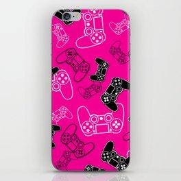 Video Games Pink iPhone Skin